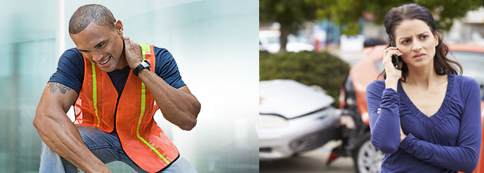 Injured at work or in a car accident?